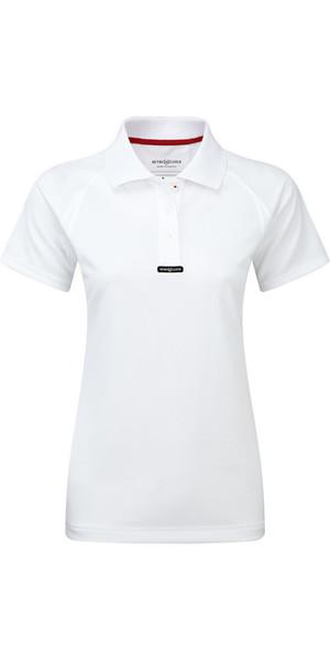 2018 Henri Lloyd Ladies Fast Dry Polo T-Shirt in Optic White Y30279