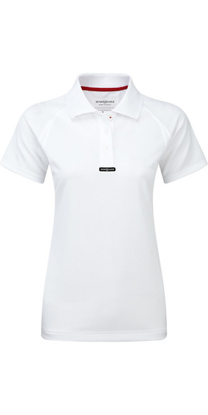 2018 Henri Lloyd Womens Fast Dry Polo T-Shirt in Optic White Y30279