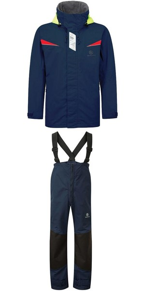 2018 Henri Lloyd Wave Inshore Jacket Y00353 & Hi-Fit Trousers Y10162 COMBI SET MARINE