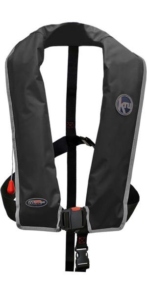 2018 Kru XF ISO Auto Gas Life Jacket BLACK LIF7579