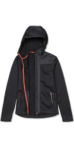 Musto Bruma Womens Hoody Fleece Black / Fire Orange SE3540