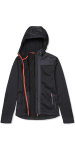 Musto Bruma Womens Hoody Fleece Black / Fire Orange SE3540