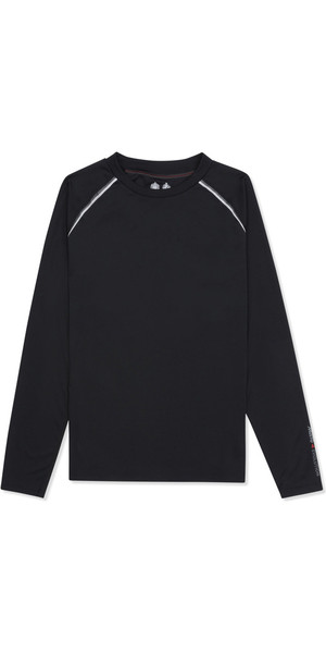 Musto Evolution Dynamic Long Sleeve Tee BLACK EMTS017