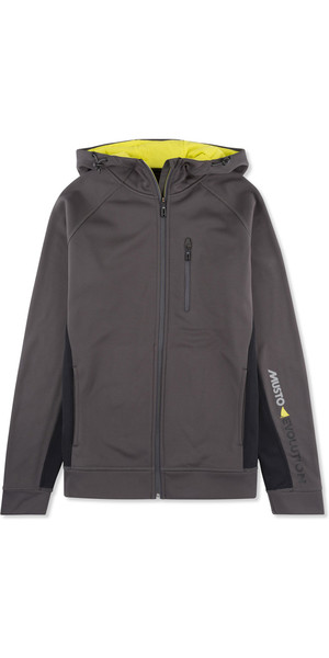 Musto Evolution Logo Zip Hoody CHARCOAL EMSW012