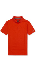 Musto Evolution Sunblock Polo FIRE ORANGE EMPS012