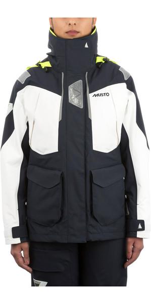 Musto Womens BR2 Offshore Jacket TRUE NAVY / WHITE SWJK014