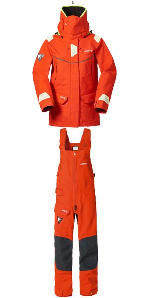 Musto Ladies MPX Goretex Offshore Jacket SM151W3 & Trouser SM1520 Combi Set FIRE ORANGE