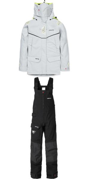 Musto Ladies MPX Goretex Offshore Jacket SM151W3 & Trouser SM1520 Combi Set PLATINUM / BLACK