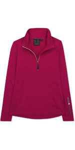 Musto Womens Corentin Warm Up Top CERISE EWSW019