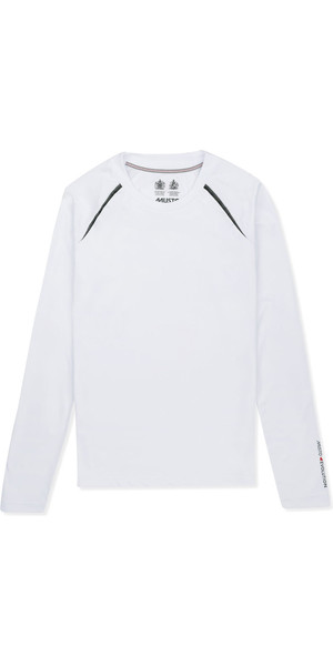 Musto Womens Evolution Dynamic Long Sleeve T-Shirt WHITE EWTS011