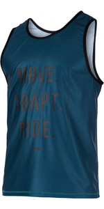 Mystic Block Loosefit Quick Dry Tank Top Teal 170286