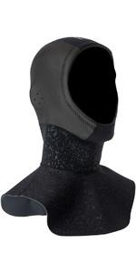 2018 Mystic Cold 3mm GBS Hood LONG Black 170130