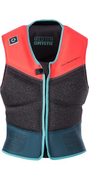 Mystic Diva Ladies Kite Front Zip Impact Vest Teal 170308