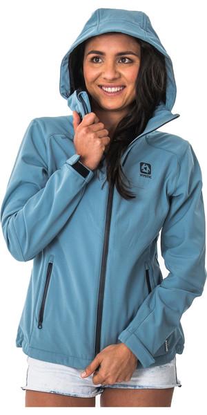 2018 Mystic Womens Globe Jacket FADED DENIM 170655