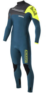 Mystic Majestic 4/3mm GBS Chest Zip Wetsuit - LIME 170015