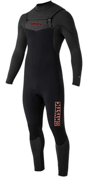 Mystic Star 3/2mm GBS Chest Zip Wetsuit - Black 170050