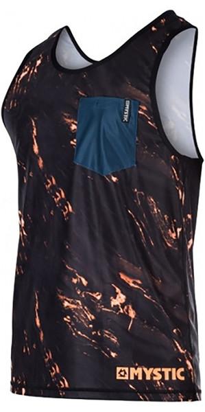 Mystic Stone Loosefit Quick Dry Tank Top Orange 170283