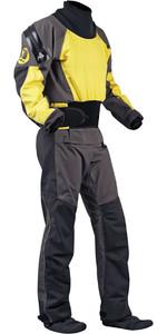 2019 Nookie Blaze Canoe / Kayak Drysuit + Con Zip Yellow / Charcoal  DR20