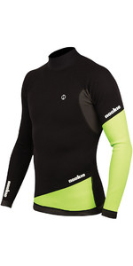 2019 Nookie Ti 1mm Neoprene Long Sleeve Vest Top Black / Green NE02