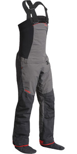 2019 Nookie Pro Bib Double Waist Dry Trousers in Charcoal Grey TR12