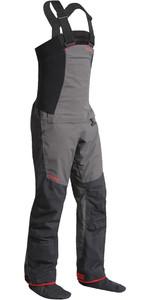 2020 Nookie Pro Bib Double Waist Dry Trousers Charcoal Grey TR12