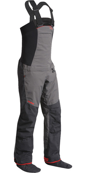 2018 Nookie Pro Bib Double Waist Dry Trousers in Charcoal Grey TR12