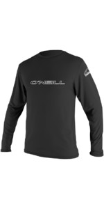 2021 O'Neill Basic Skins Long Sleeve Rash Tee BLACK 4339