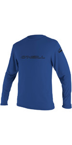 2020 O'Neill Basic Skins Long Sleeve Rash Tee PACIFIC 4339