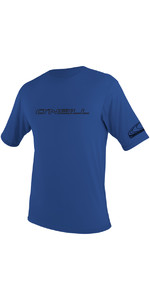 2021 O'Neill Basic Skins Short Sleeve Rash Tee PACIFIC 3402