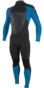 O'Neill Epic 5/4mm Back Zip GBS Wetsuit BLACK / OCEAN 4217