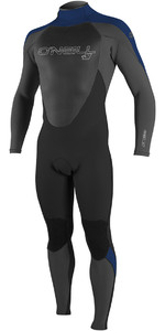 2018 O'Neill Epic 5/4mm Back Zip GBS Wetsuit BLACK / GRAPHITE / NAVY 4217