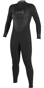 O'Neill Womens Epic 3/2mm GBS Back Zip Wetsuit BLACK / BLACK 4213