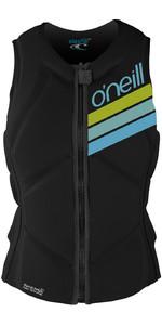 O'Neill Womens Slasher Comp Impact Vest BLACK 4938EU