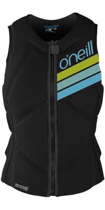 O'Neill Womens Slasher Kite Impact Vest BLACK 4943EU