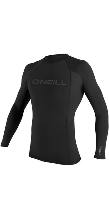 O'Neill Youth Thermo-X Long Sleeve Crew Top BLACK 5009