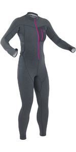 2021 Palm Womens Tsangpo Drop Seat Thermal Undersuit Jet Grey 11746