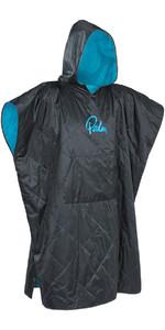2021 Palm Weatherproof Changing Robe / Poncho Grande in Jet Grey 11783