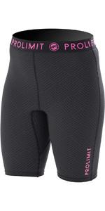 Prolimit Womens SUP Quick Dry Shorts Black / Pink 74790