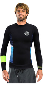 Rip Curl Aggrolite 1.5mm Long Sleeve Neoprene Jacket FLURO LEMON WVE4KM