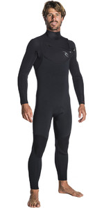 2019 Rip Curl Dawn Patrol 5/3mm Chest Zip Wetsuit BLACK WSM7GM