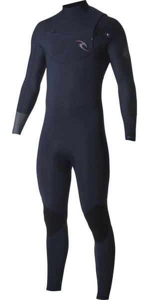 2018 Rip Curl Dawn Patrol 3/2mm Chest Zip Wetsuit NAVY WSM7AM