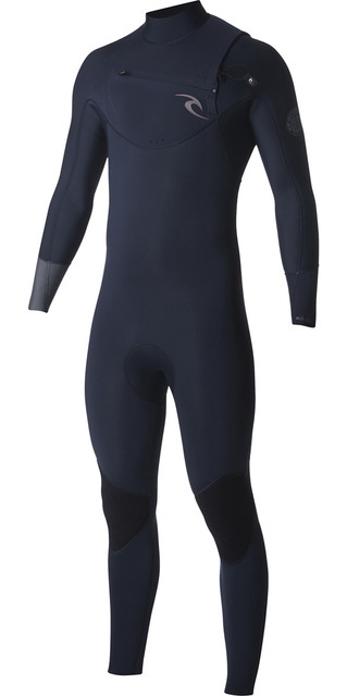2018 Rip Curl Dawn Patrol 3/2mm Chest Zip Wetsuit Navy Wsm7am Picture