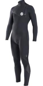 Rip Curl E-Bomb Pro 3/2mm GBS Zip Free Wetsuit BLACK WSM6RE
