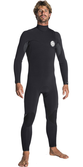 2018 Rip Curl Flashbomb 3/2mm Zip Free Wetsuit Black Wsm7rf Picture