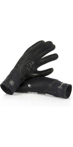 2020 Rip Curl Flashbomb 3/2mm 5 Finger Glove WGLYCF - Black