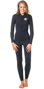 Rip Curl Womens G-Bomb 2mm Front Zip Wetsuit Black WSM6HW