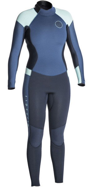 2018 Rip Curl Womens Dawn Patrol 3/2mm GBS Back Zip Wetsuit Dark BLUE WSM6GW