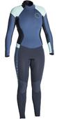 Rip Curl Womens Dawn Patrol 5/3mm Back Zip Wetsuit DARK BLUE WSM7EW