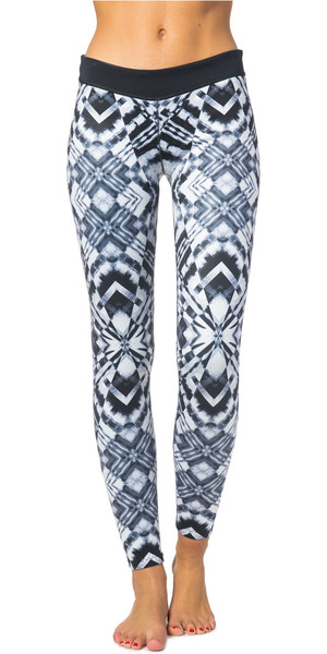 Rip Curl Ladies G-Bomb 1mm SUP Neoprene Trousers BLACK / WHITE WPA6BW