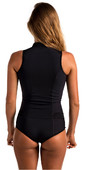 2021 Rip Curl Womens G-Bomb 1mm Sleeveless Shorty Wetsuit BLACK WSP6HW